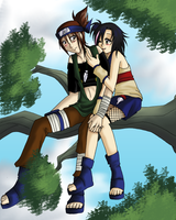 Ninjas in a Tree by lady-obsessed