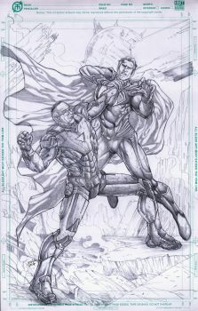 IronStan vs. Man of Steel by jey2dworld