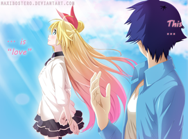 Chitoge and Raku Nisekoi 199 by Maxibostero