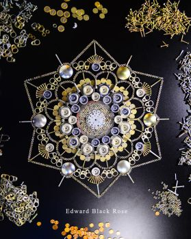 Metal Mandala by EdwardBlackRose