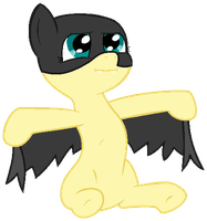 My Little Pony Base #17 [Batmare] by DrugzRbad