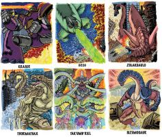 Colossal Kaiju Combat Trading Card Sample 3 by fbwash