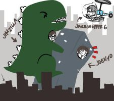 ATTACK OF JIMZILLA by Shoujoboi5000