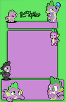 FREE - Spike MLP - Journal Skin by ShadowJournals