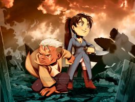 FMA - The Mercenary Girl and The Scarred Man by Ade-AndaRio