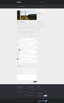 aerius PSD Template - Item page by tritube