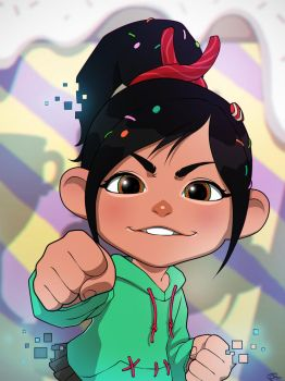 Vanellope by daimontribe