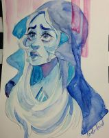 Whats the use of feeling, Blue ? by Corelle-Vairel