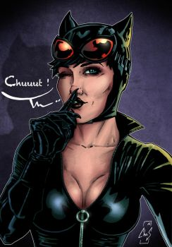 Catwoman - Chuuut by Spidertof