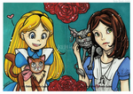Alice and Alice and their Kitty Ditties by tea-bug