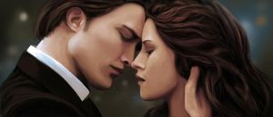 Edward And Bella by Trisstrae