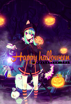 Happy halloween 2013! by TifaxxLockhart
