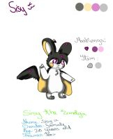 .:Sisy Reference:. by AmaterasuWarrior