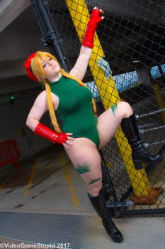 ConnectiCon 2017 - Cammy(PS) 05 by VideoGameStupid
