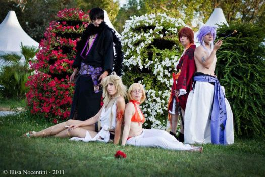 Zone 00 cosplay group 2 by Valtica