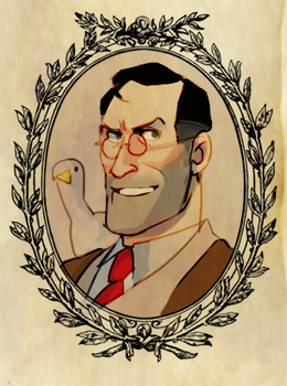 TF2: The Medic by koenta