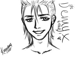 Demyx Sketch by NeverComingDown