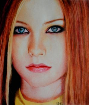 Avril Lavigne by True-Tears