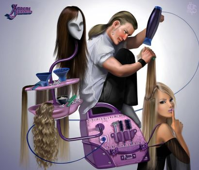 Xtreme Hairdresser by Desert-Of-Seth