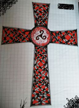 Celtic Cross by Wednesday-thirteen