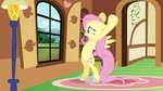 Fluttershy totally not reusing animation poses S2E by Tardifice