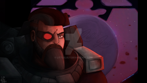 Comission- Gangplank Dreadnova by luly97