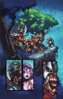 WoW Curse of the Worgen 2 pg23 by Tonywash