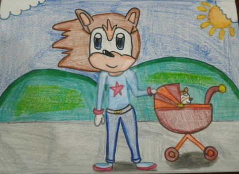 Walk in the park by Tabby010
