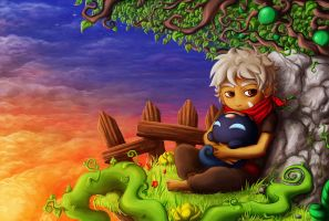 Tribute to Bastion by Nayro