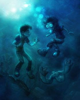 Tamers 091. Drowning by ovibos
