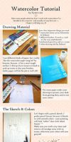 Just Be Friends - Watercolor Tutorial by Kyatto-san