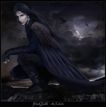 Fiach Dubh, -the Trickster by wycked