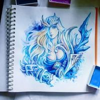 Instaart - Crystal Maiden by Candra