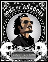Sons of Anarchy - Tig Trager by chadtrutt