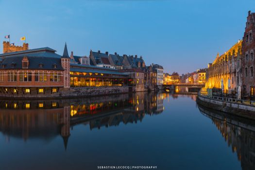 Gent Reflection by lux69aeterna