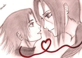 I love you, brother by akrum