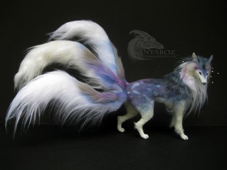 Cloud Kitsune Room Guardian: FOR AUCTION by AnyaBoz