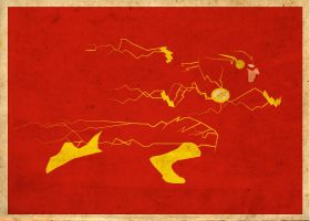 Flash Poster Variation 3 by Procastinating