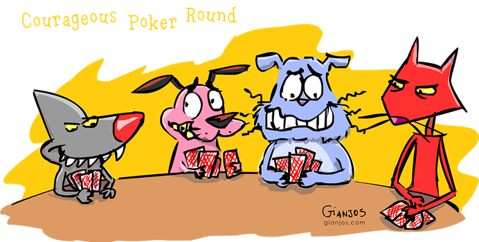 'Courageous' Poker Round by gianjos