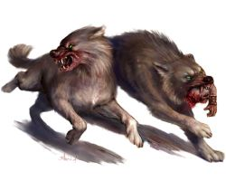 Dire Wolves by BrittMartin