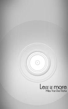 Less is More by torado