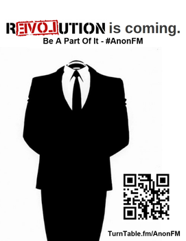AnonFM - Flyer 1 by OpPaperStorm