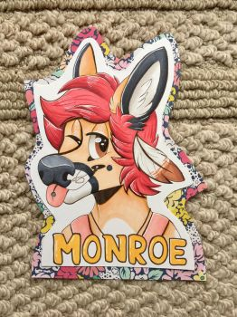 monroe doe badge commission by labramazing