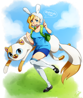 Adventure Time by uixela