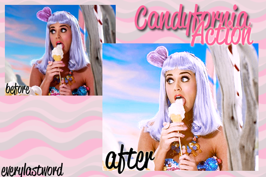 Candyfornia Action by everylastword