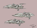 Hover bike concepts by stourangeau
