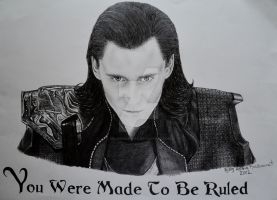 Loki You were Made To Be Ruled by HeleneSaether