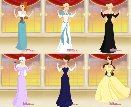Non Disney Princesses by bloona