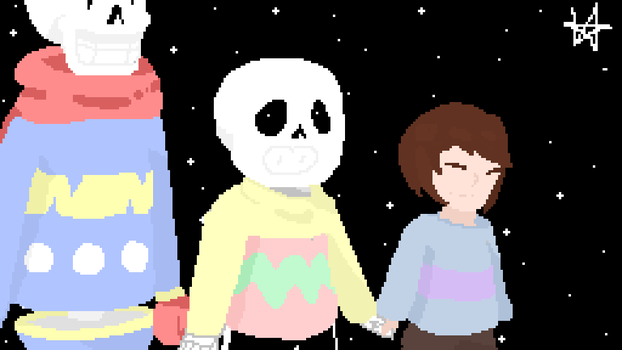 Happy Easter [Undertale - Old ] by MXXNT