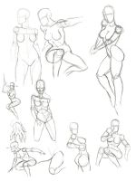 Female Anatomy by X2X0-Art